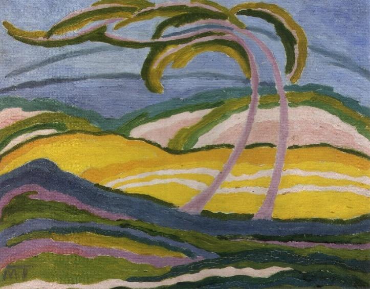 Mattis Teutsch János, a fák festője