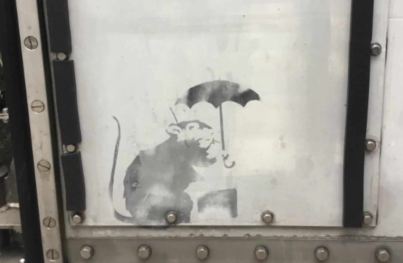 Banksy megajándékozta Tokiót?